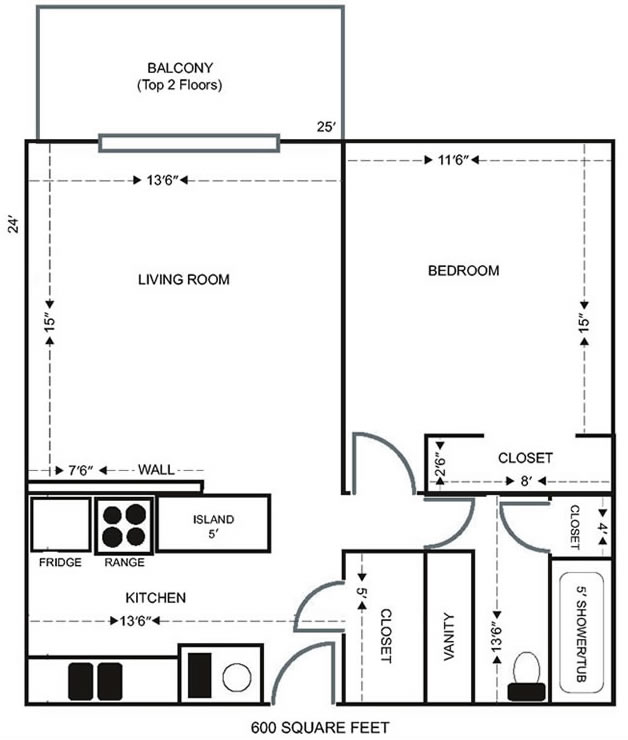 Thumb Lee Crest 1bed Apartment